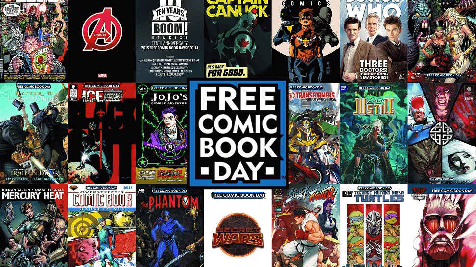 Free Comic Book Day: Trip to Forbidden Planet