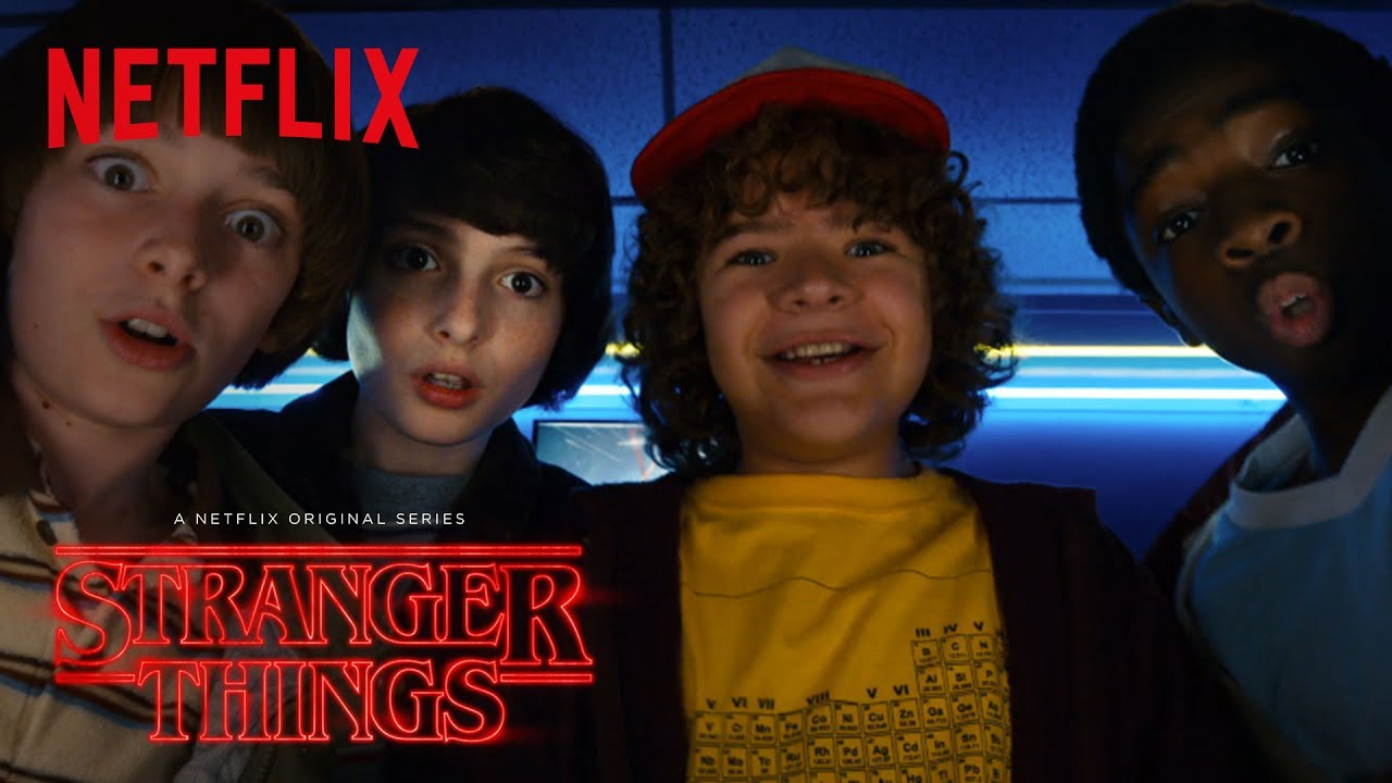 "A photo of Stranger Things | Season 2 Comic Con ""Thriller"" Trailer [HD] 