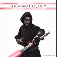 Is it because I is a Jedi? (ta ads)