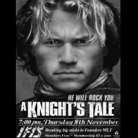 IFIS poster for A Knight's Tale