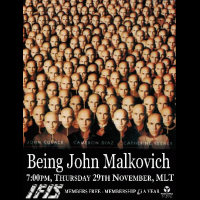 IFIS Being John Malkovich Poster