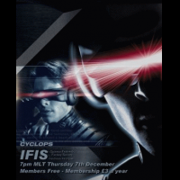 IFIS X-Men Poster - Cyclops