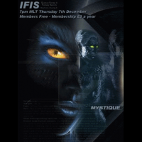 IFIS X-Men Poster - Mystique