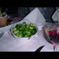 Some satanic and evil brussel sprouts, corrupting freshers with their evil mind bending powers.